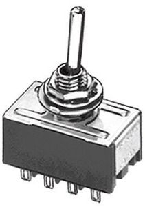 Deviatore Quadripolare a leva   On-Off-On    6A 125 Vac  Miyama