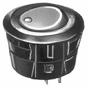Deviatore Unipolare  a bilancere   5 A 250 Vca Nero