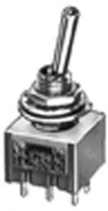 Deviatore Unipolare a leva On-Off-On 3A 125 Vac