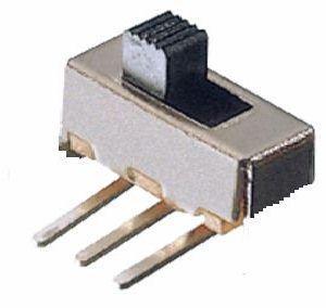 Deviatore Unipolare a slitta da C.S 90°  6 A 125 Vca