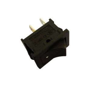 Interruttore Unipolare  ON-OFF 6 A-125 Vca Nero per faston
