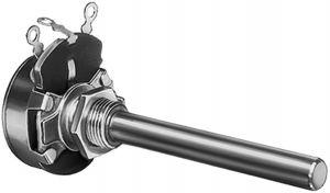Potenziometro rotativo a filo 5 watt 500 Vdc 10  Kohm
