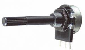 Potenziometro Strato Carbone D 20  0,2 W   100  Kohm   Log  C.S.