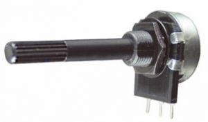 Potenziometro Strato Carbone D 20  0,2 W   2,2  Kohm   Log  C.S.